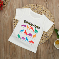 Cotton, dinosaurshirt, Shorts, Cotton Shirt