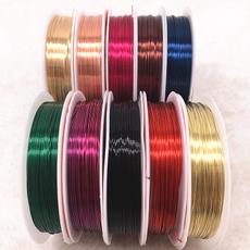 Copper, Wire, Jewelry, Colorful