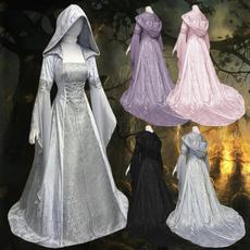 Goth, hooded, Cosplay, Medieval