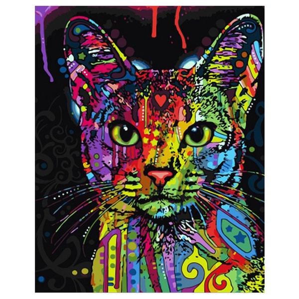 Wish | Cuadro Enmarcado Numeros de Pintura Arte de La Pared Pintura ...