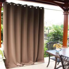 Outdoor, Home Decor, porch, waterproofcurtain
