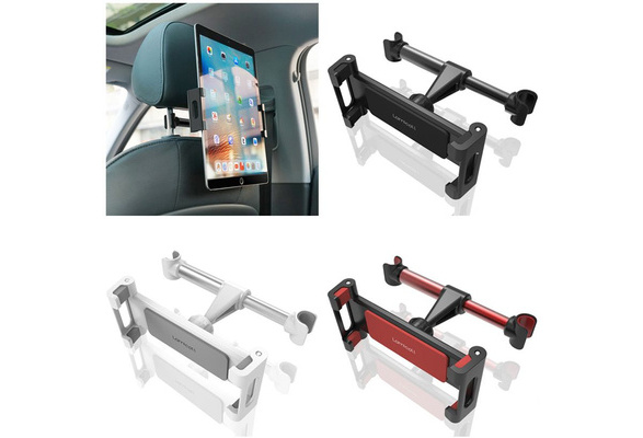 Stand Cradle Compatible ... Car Headrest Mount Lamicall Tablet Headrest Holder