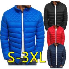 Plus Size, Winter, bubble, mencottonjacket