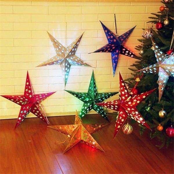 christmasholidaydecoration, Star, starlight, Tree