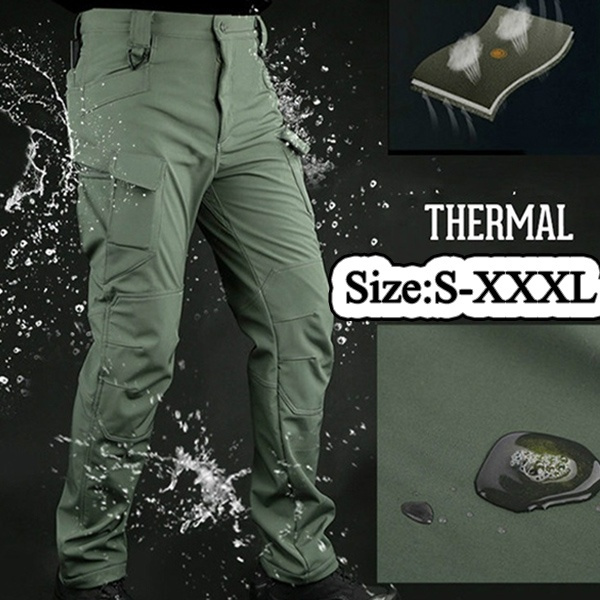 Urban Tactical Pants Men Military Army Combat Assault SWAT Training Army  Trousers 97% cotton 3% Spandex YKK zipper