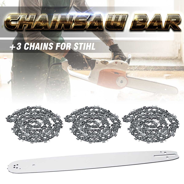 Garden Tools Chainsaw Bar Stud And Bar Nut Kit For Stihl Ms362 Ms381 Ms440 Ms441 Ms660 New