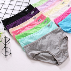 Underwear, Panties, Cotton, candy color