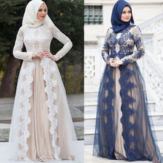 kaftan, Plus Size, Lace, Elegant