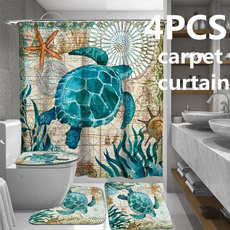 Turtle, Bathroom, Bathroom Accessories, Waterproof