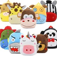 School, Plush, Cartoon Backpack, School Backpack