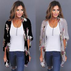 blouse, Bat, cardigan, long sleeve blouse