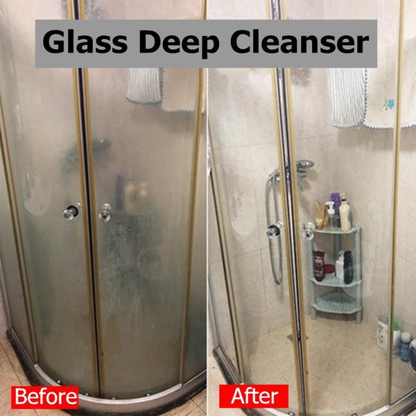 HGKJ Glass Deep Cleanser Shower Door Water Repellent Protects