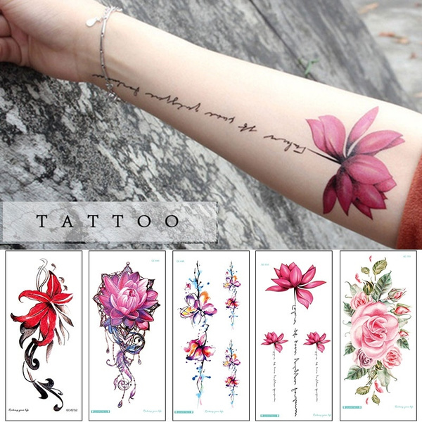 3d Body Art Tattoos Decals Temporary Waterproof Tattoos Stickers Cartoon Arm Body Removable Wish
