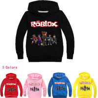 Roblox Children S Clothes Suit Hoodie Pants Two Piece Hooded