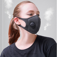 spongedustmask, Outdoor, mouthmask, breathablevalvemask