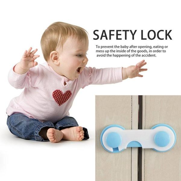 Baby Kids Box Drawer Cupboard Cabinet Wardrobe Door Fridge Safe Safety Lock