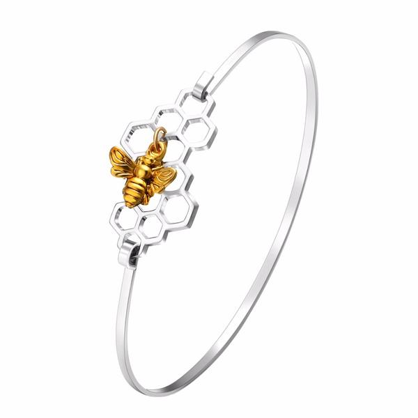 honeybeehive, Jewelry, elegantjewelry, Bangle Women