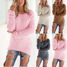 blouse, Women Sweater, longtop, Winter