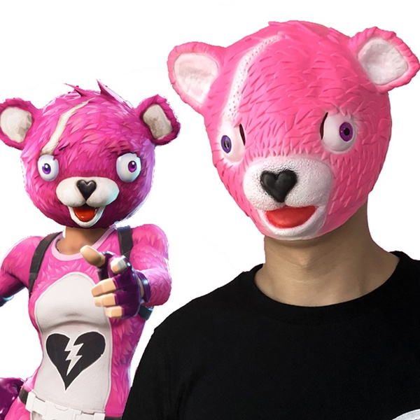 Pink cuddle bear fortnite