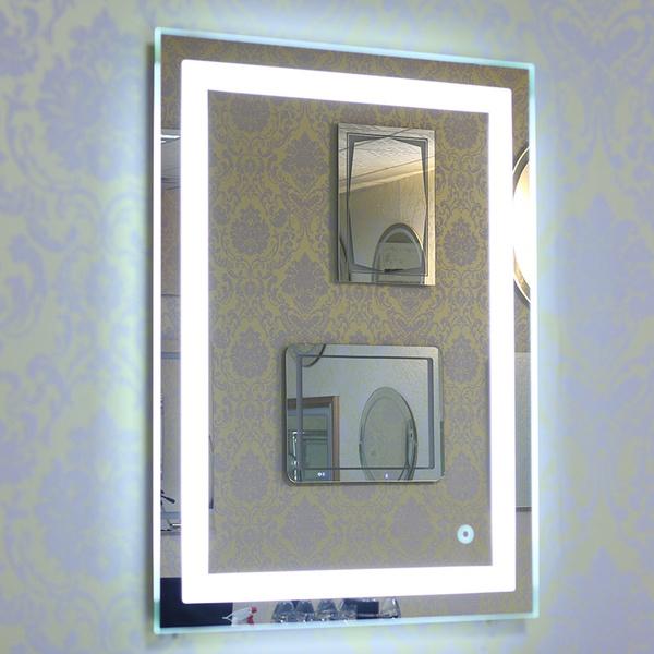 Miroir lumineux de vanité Miroir lumineux de salle de bains LED FR