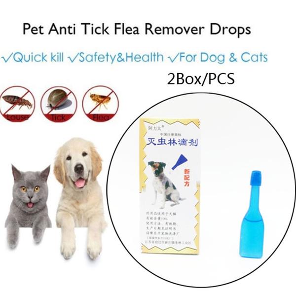 Box, antimosquito, antiflea, pet dog