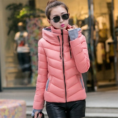 Jacket, hooded, Winter, cottonpaddedjacket