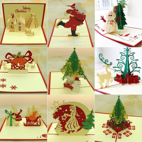 Gift Card, Christmas, Gifts, Postcards