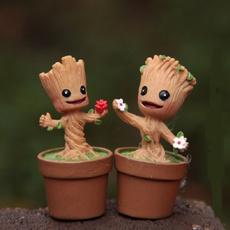 cute, Garden, figure, Tree