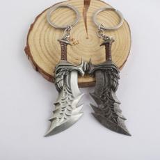 War, Key Chain, shield, Chain