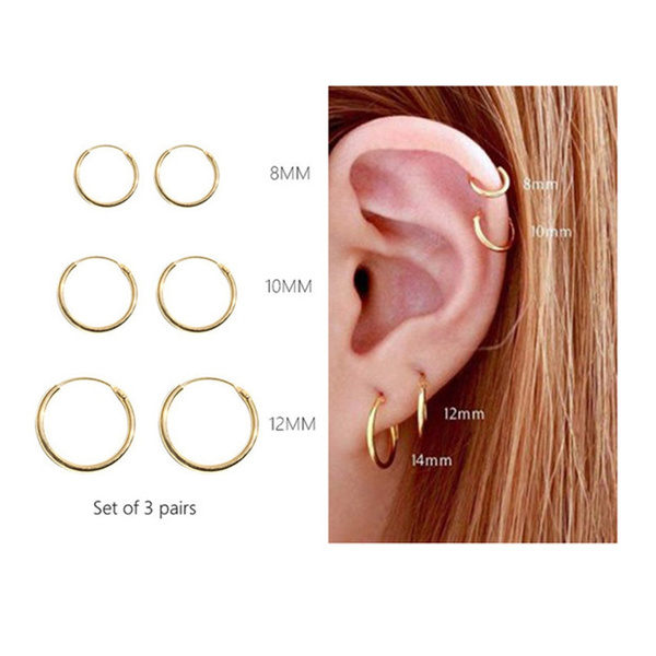 tinyhoopearring, cartilageearringhoop, Hoop Earring, Jewelry