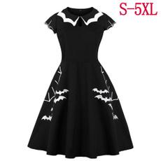 Goth, Plus Size, bowknot, gothic clothing