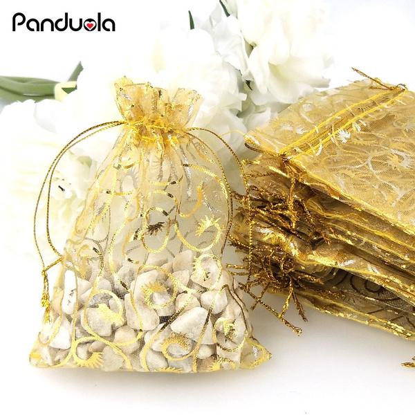 Gift Bag 10 Premium Quality Organza Bags 7cm 10cm Wedding Party Favour