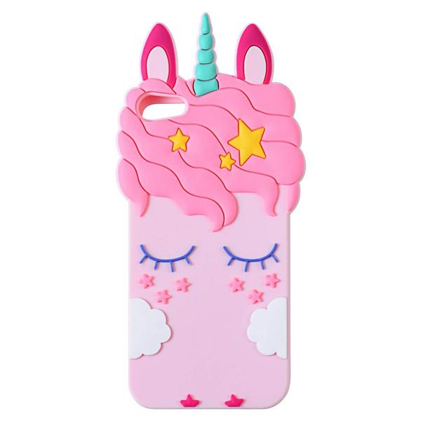 Cute Unicorn Silicone Case For Apple