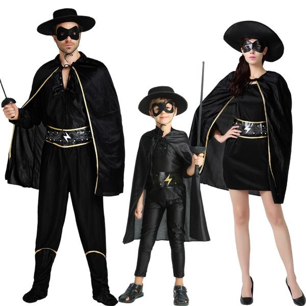 Bandit Zorro Masked Man Eye Mask for Theme Party Masquerade Costume Halloween