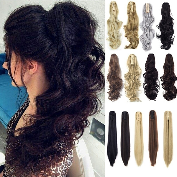 ponytailextension, wig, clip in hair extensions, Hair Extensions