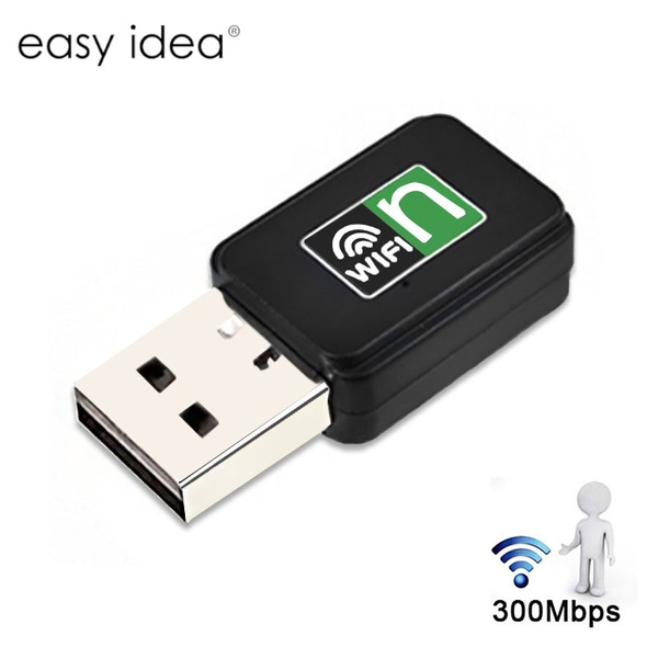 300Mbps Wireless USB Wi-fi Wlan Adapter 802.11 b//g//n Network LAN Dongle In OS