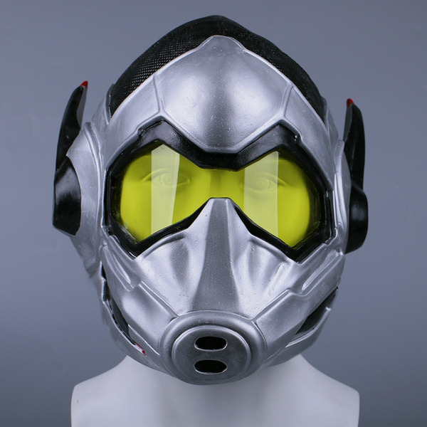 Ant Man LED Helmet Cosplay Ant-Man and The Wasp Props Mask