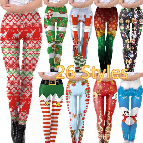 Leggings, Fashion, Cosplay, Christmas