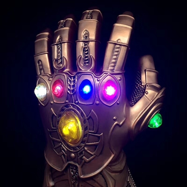 Thanos Infinity Gauntlet Glove Cosplay Infinity War The Avengers Prop Gifts New
