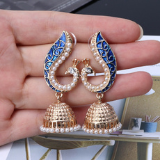 peacock, gypsyjewelry, Jewelry, Earring