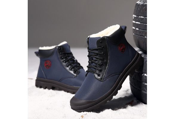 476f3c8c60cd5 Men's Spring Winter Snow Boots Waterproof Fishing Outdoor Skiing Hiking  Boots Tactical Military Shoes Herrenschuhe | Wish