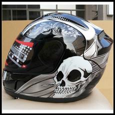 Helmet, Novelty, motorbike, skull
