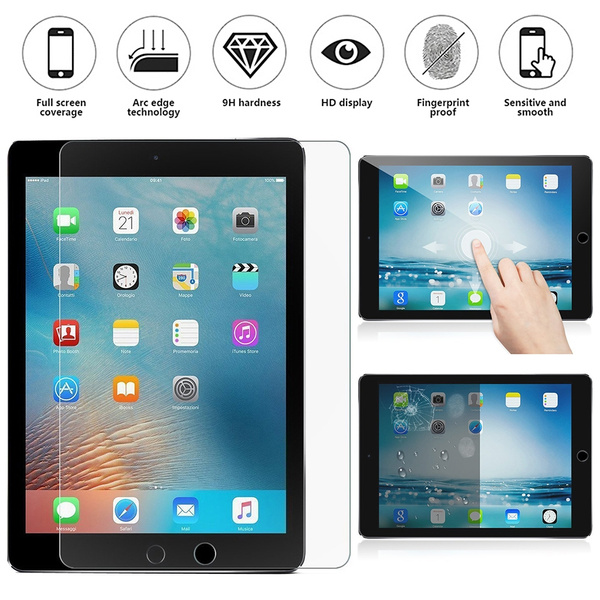Tempered Glass Screen Protector Film For Apple iPad 2 3 4 Air 1 2 Mini Pro 9.7/""