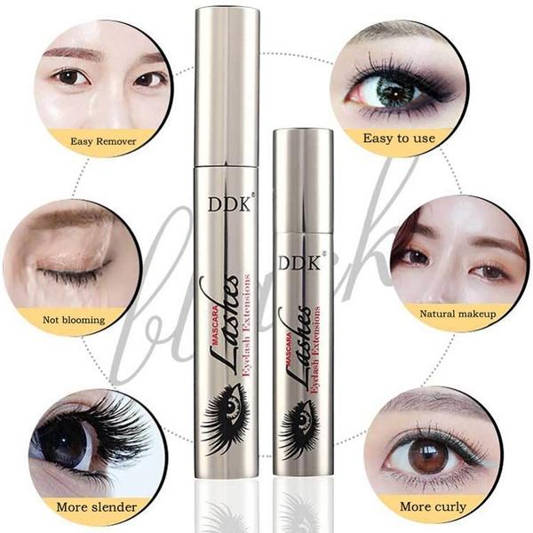 Wish 4d Silk Fiber Eyelash Mascara Magic Black 2pcs Lot Makeup