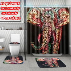 Bathroom, pedestalrug, Shower Curtains, showercurtainforbathroom