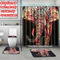Bathroom, pedestalrug, Shower Curtains, showercurtainforbathroom