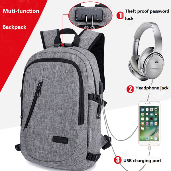 0ba42434305 Laptop Backpack, Travel Computer Bag , Anti Theft Water Resistant ...
