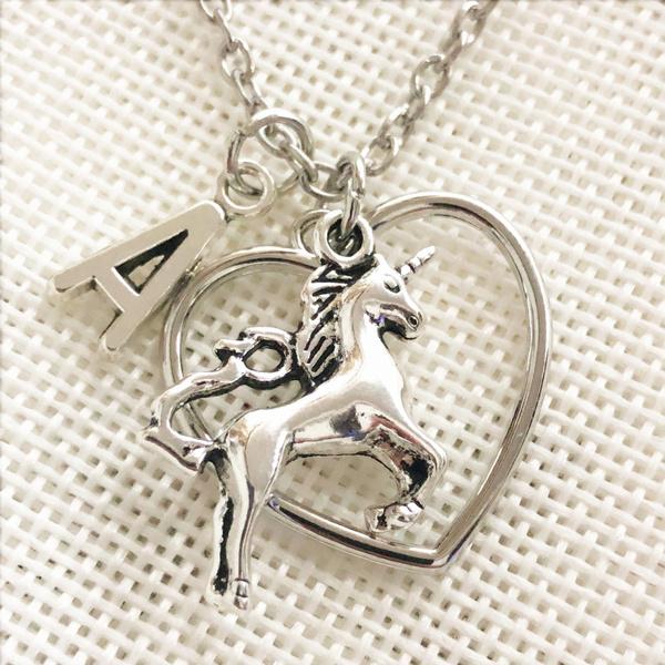 unicornnecklacependant, Jewelry, Gifts, heart necklace