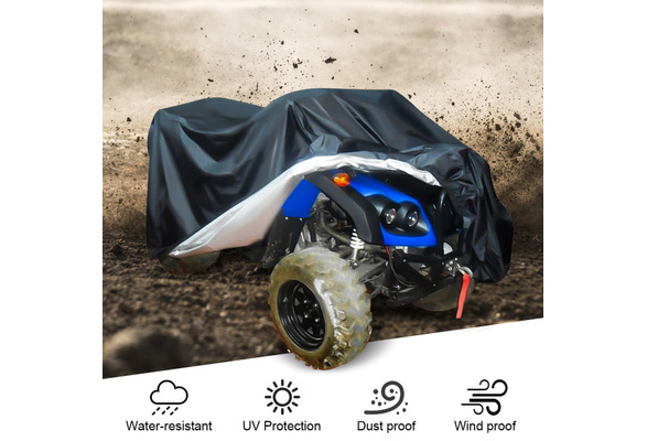 140*66*91cm Lawn Mower Tractor Cover UV Resistant Waterproof Garden Yard Riding