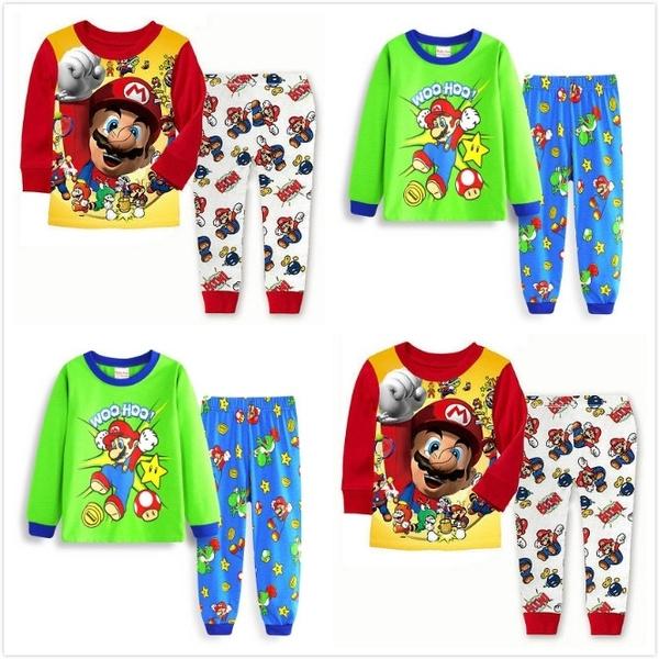 bd048edd43 New Arrival toddler boy clothes set Buzz Lightyear kids pajamas set cartoon  woody pijama infantil super mario bros pijama 2pcs